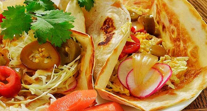 tortilla mexicana de verduras