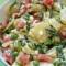 Ensalada de papa con mayonesa y limón