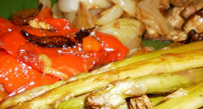 verdura al horno