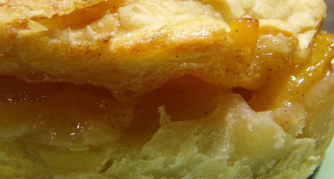 tarta vegana de pera